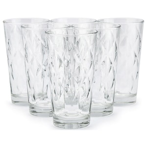 Set 6 pahare long drink Kaleido BORMIOLI 4049165, 37cl