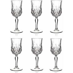 Set pahare apa RCR CRISTALLERIA Opera, 6 piese, 0.23l, sticla