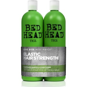 Pachet promo TIGI Bed Head Elasticate: Sampon, 750ml + Balsam de par, 750ml