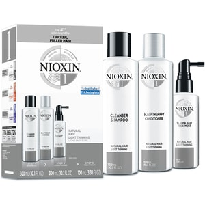 Set NIOXIN No.01: Sampon, 300ml + Balsam de par, 300ml + Tratament pentru par, 100ml