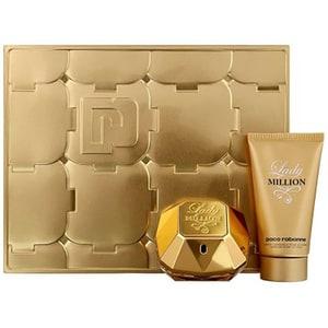 Set cadou PACO RABANNE Lady Million: Apa de parfum, 50ml + Lotiune de corp, 75ml