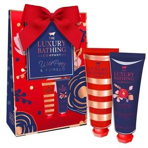 Set cadou THE LUXURY BATHING COMPANY Harmony: Crema de corp, 50ml + Crema pentru maini si unghii, 50ml