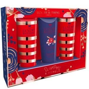 Set cadou THE LUXURY BATHING COMPANY Hand-Picked: Crema pentru maini si unghii, 3buc x 50ml