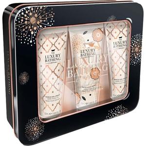 Set cadou THE LUXURY BATHING COMPANY Little Luxuries: Crema pentru maini si unghii, 3 buc x 50ml