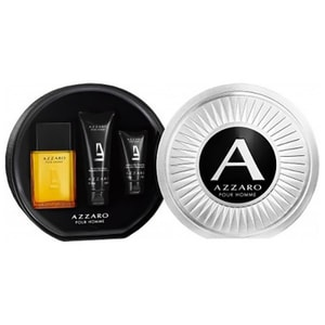 Set cadou AZZARO pour Homme: Apa de toaleta, 100ml + Gel de dus, 100ml + After Shave Balsam 50ml
