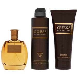 Set cadou GUESS by Marciano: Apa de toaleta, 100ml + Gel de dus, 100ml + Deodorant spray, 175ml