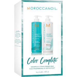 Set MOROCCANOIL Color Complete: Sampon, 500ml + Balsam de par, 500ml