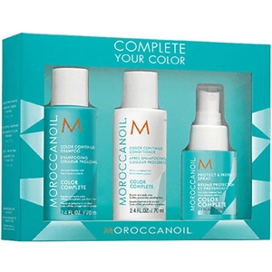 Set cadou MOROCCANOIL Complete Your Color: Sampon, 70ml + Balsam de par, 70ml + Spray pentru par, 50ml