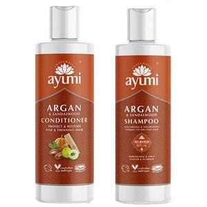 Pachet promo AYUMI Duo hair Santal: Sampon, 250ml + Balsam de par, 250ml