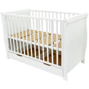 Patut E-KIDS Anto Exclusive PM9804, 0 luni - 3 ani, alb
