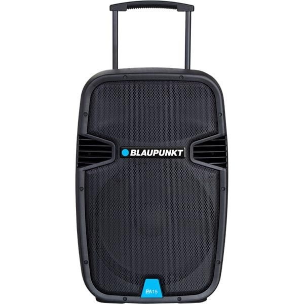 Boxa portabila BLAUPUNKT PA15, Bluetooth, Radio FM, Karaoke, negru