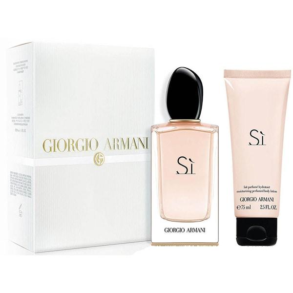 Set cadou GIORGIO ARMANI Si: Apa de parfum, 100ml + Lotiune de corp, 75ml
