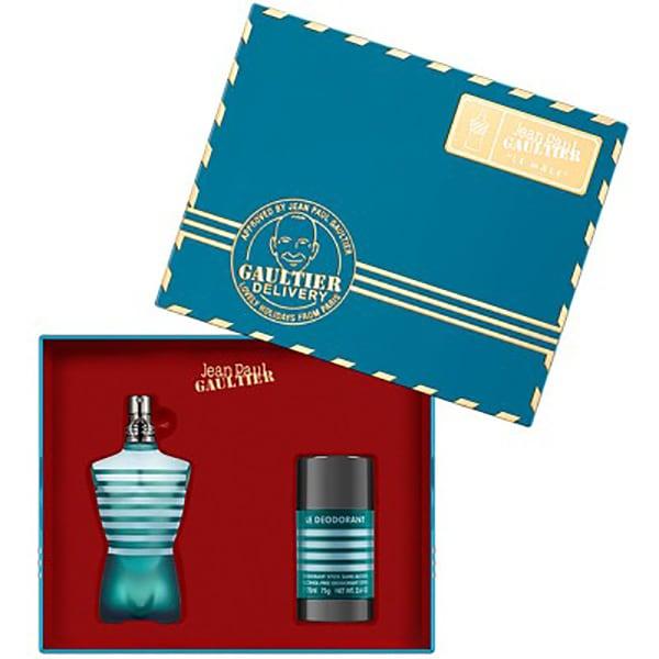 Set cadou JEAN PAUL GAULTIER Le Male: Apa de toaleta, 75ml + Deodorant stick , 75ml