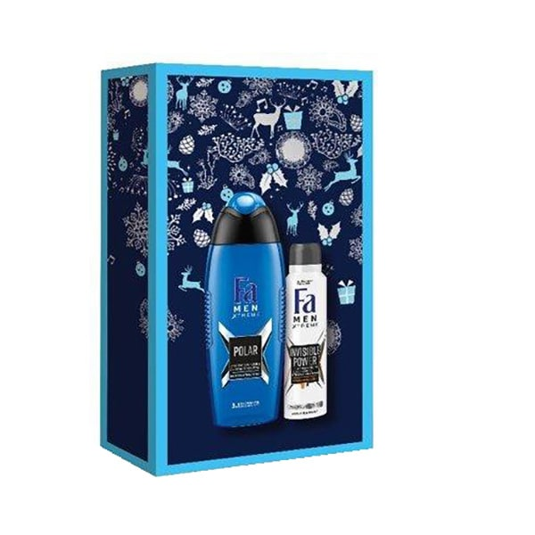 Set cadou FA Men Xtreme: Gel de dus, 250ml + Deodorant spray, 150ml