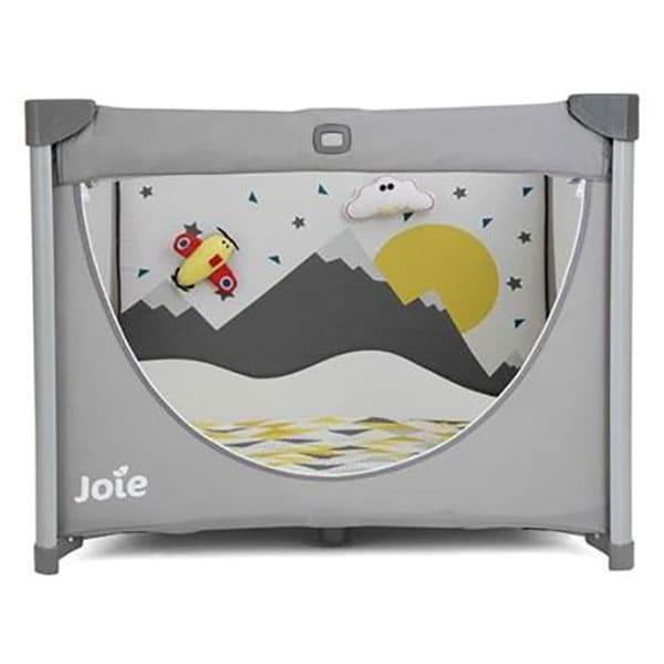 Patut pliabil JOIE Cheer Little Explorer P125AALEX, 0 luni+, gri