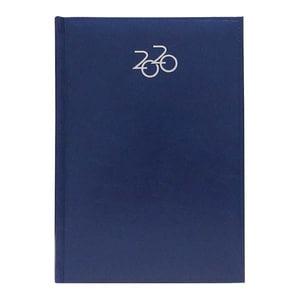Agenda datata ARTILUX 2020, A5, 168 file, hartie ivory, albastru