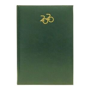 Agenda datata ARTILUX 2020, A5, 168 file, hartie ivory, verde