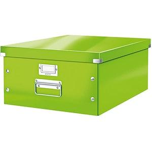 Cutie organizare LEITZ Click & Store, 369 x 200 x 482 mm, carton, verde