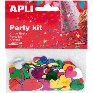 Confeti APLI AL013820, 15 mm, diverse culori
