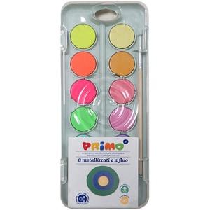 Acuarele cu pensula inclusa MOROCOLOR, 12 culori