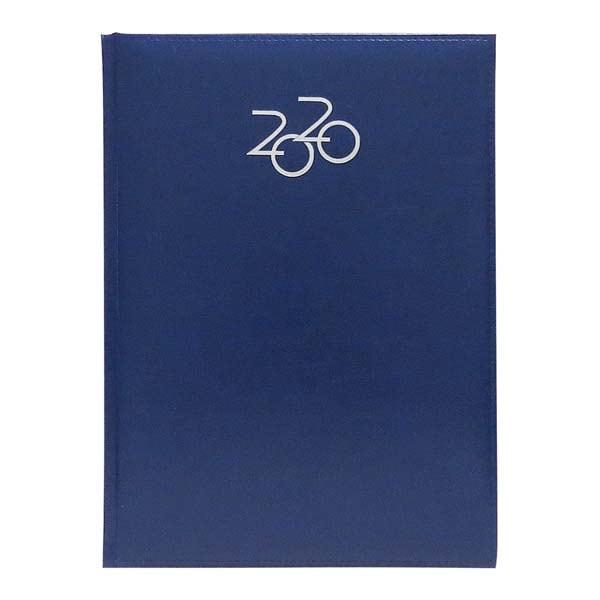 Agenda datata ARTILUX 2020, A4, 64 file, hartie ivory, albastru