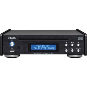 CD Player TEAC PD-301DAB-X-B, USB, DAB, FM, negru