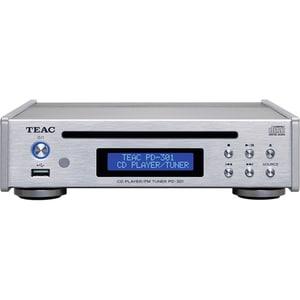 CD Player TEAC PD-301DAB-X-S, USB, DAB, FM, argintiu