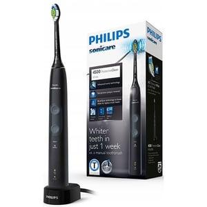 Periuta de dinti electrica PHILIPS Sonicare ProtectiveClean HX6830/44, 2 programe, 62000 de miscari/min, 1 capat, negru