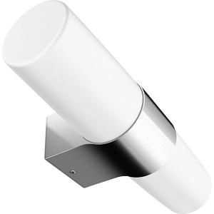 Aplica de baie PHILIPS myBathroom Skin 34024/11/16, 2x3W, 540lm, lumina calda, argintiu