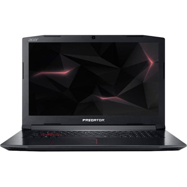 "Laptop ACER Predator Helios 300 PH317-52-76E1, Intel® Core™ i7-8750H pana la 4.1GHz, 17.3"" Full HD, 8GB, HDD 1TB + SSD 256GB, NVIDIA GeForce GTX 1050 Ti 4GB, Linux"