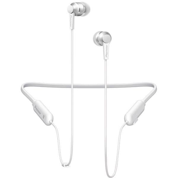 Casti PIONEER SE-C7BT, Bluetooth, NFC, In-Ear, Microfon, alb