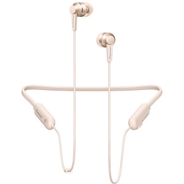 Casti PIONEER SE-C7BT, Bluetooth, NFC, In-Ear, Microfon, auriu