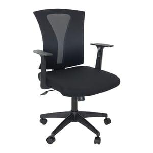 Scaun birou operational VECTOR, textil, negru