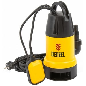 Pompa submersibila DENZEL DP900, 900W, 14000l/h, galben