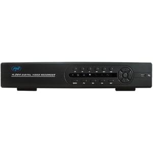 DVR / NVR PNI House L724, 9 canale digitale sau 24 canale analogice, negru