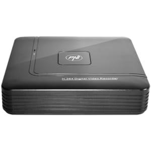 DVR / NVR PNI House H804, 8 canale IP sau 4 canale analogice, negru