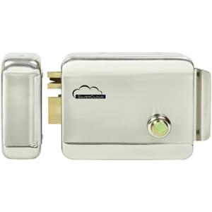 Yala electromagnetica SILVERCLOUD YR300 cu butuc, deschidere dreapta, Fail Secure NO, argintiu