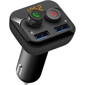 Modulator FM PNI Valentine F250 Bluetooth 5 0, MP3 player, negru