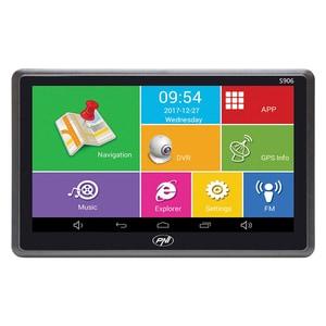 "Sistem de navigatie GPS + DVR PNI S906 ecran 7"", Android 6.0, Harti Here Maps si Waze"