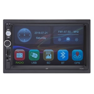 "Media receiver auto PNI V7270, 7"", 4 x 50W, Bluetooth, USB, GPS, Mirroring"