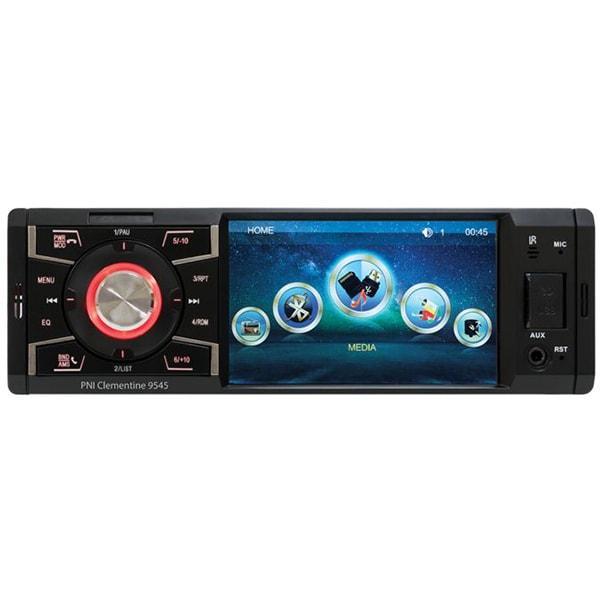 MP5 player auto PNI MP5-9545, Bluetooth, USB, MicroSD, negru