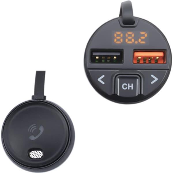 Modulator FM PNI Valentine V880 Bluetooth 5 0, MP3 player, negru