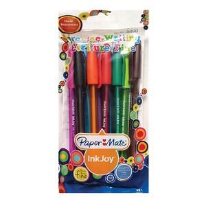 Set 10 pixuri fara mecanism PAPERMATE Inkjoy 100C, multicolor