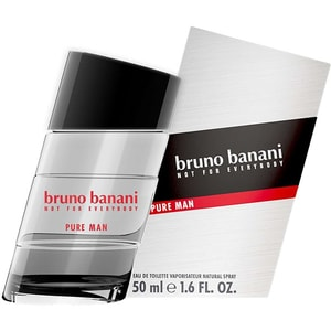 Apa de toaleta BRUNO BANANI Pure Man, Barbati, 50ml