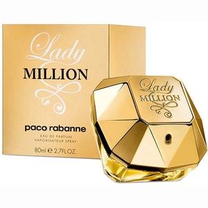 Apa de parfum PACO RABANNE Lady Million, Femei, 80ml