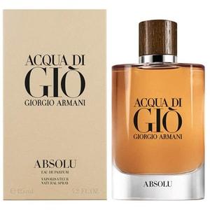 Apa de parfum GIORGIO ARMANI Acqua di Gio Absolu, Barbati, 125ml