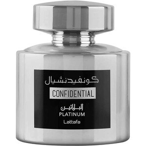 Apa de parfum LATTAFA PERFUMES Confidential Platinum, Unisex, 100ml