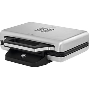 Sandwich maker WMF Lono 415150011, 800W, argintiu-negru