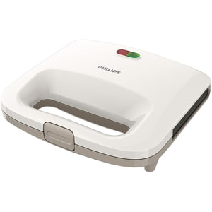 Sandwich maker PHILIPS Daily Collection HD2392/00, 820W, alb-bej