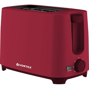 Prajitor paine VORTEX VO4008RD, 2 felii, 700W, rosu